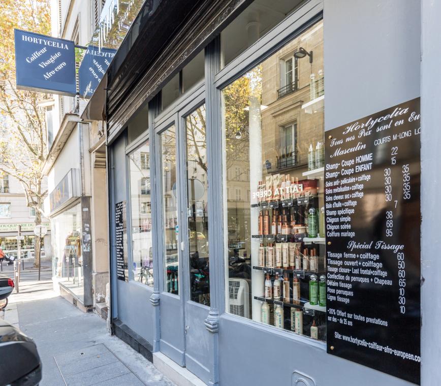 coiffeur visagiste afro-européen Paris 17 salon de coiffure